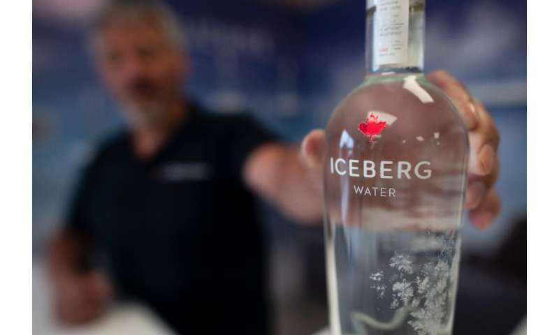 Kerry Chaulk manages a company that bottles iceberg water and sells it to tourists
