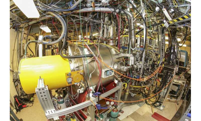 Machine set to see if lithium can help bring fusion to Earth