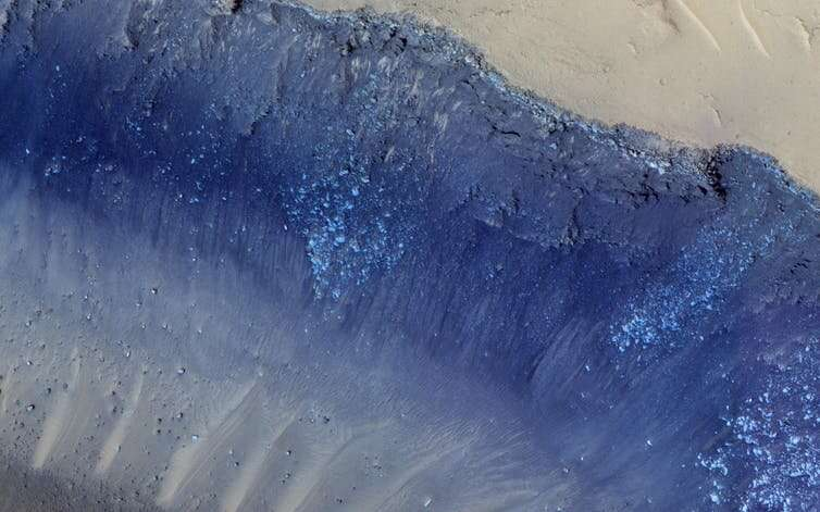 Mars: we may have solved the mystery of how its landslides form