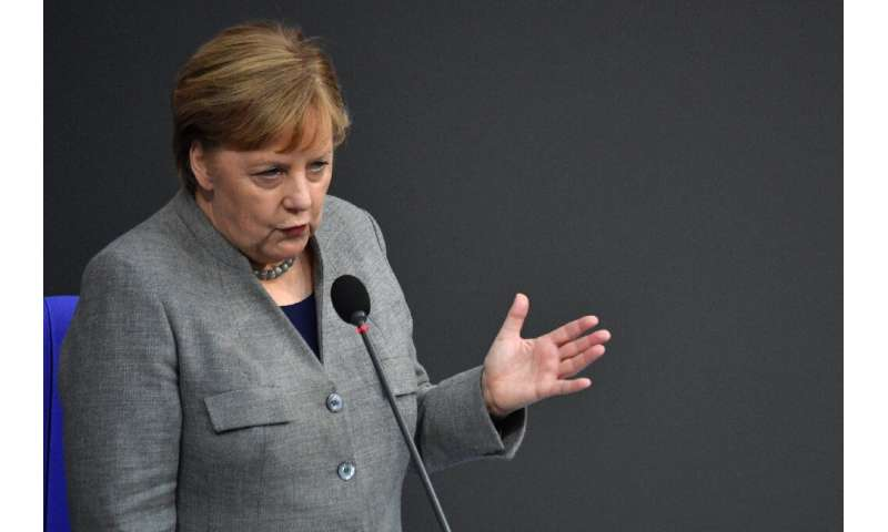 Merkel's government is under increasing pressure to tackle climate change