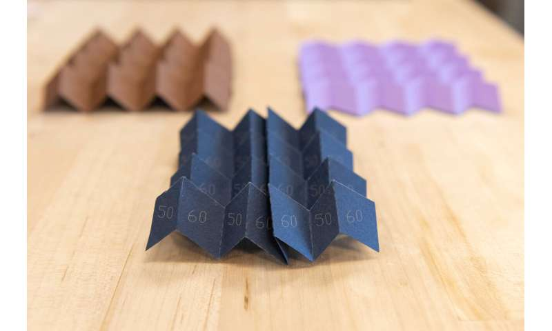 Morphing origami takes a new shape, expanding use possibilities