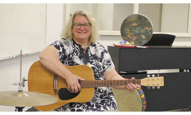 Music therapy aims to develop emotion regulation in preschoolers