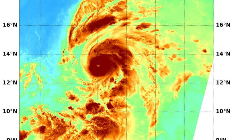 NASA analyzes first central pacific ocean hurricane's ... Pacific Ocean Water