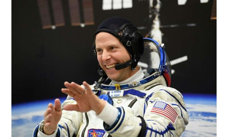 NASA astronaut Nick Hague said he was looking forward to the flight