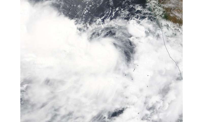 NASA catches development of Tropical Cyclone 02A
