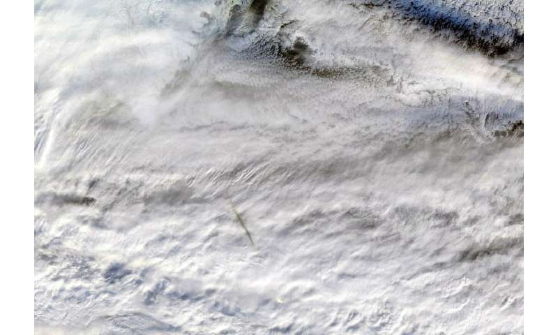 NASA instruments image fireball over Bering Sea