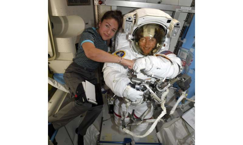 NASA sets 1st all-female spacewalk after suit flap in spring