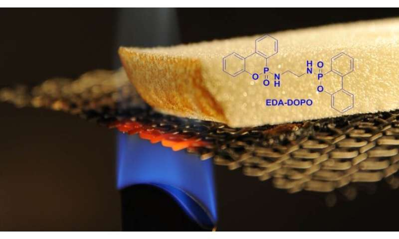 New additive provides fire protection for wood