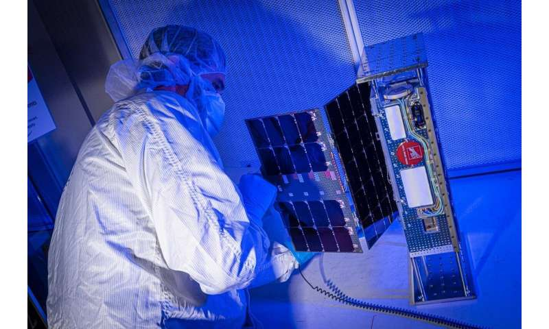 New NASA-funded CubeSat poised to take Earth's temperature from space
