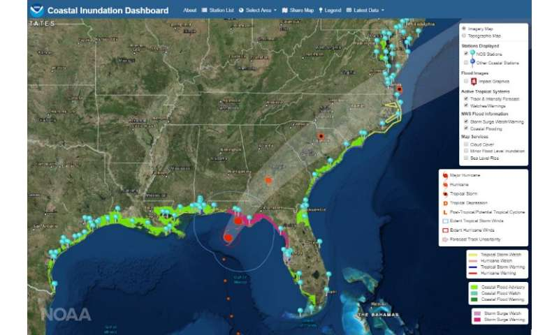 New online tool helps communities prepare for coastal flooding