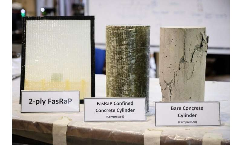 New quick-fix wrap by NTU and JTC can repair and reinforce existing structures