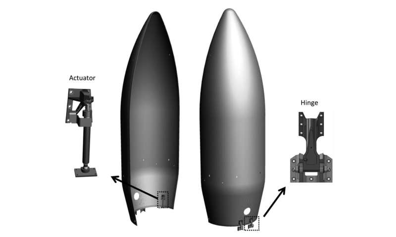 New rocket fairing design offers smoother quieter ride
