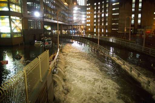 NYC mayor: Extend shoreline to protect city from storms