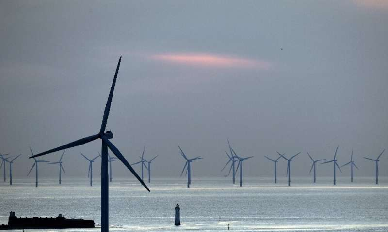 Offshore wind currently provides just 0.3 percent of global power generation
