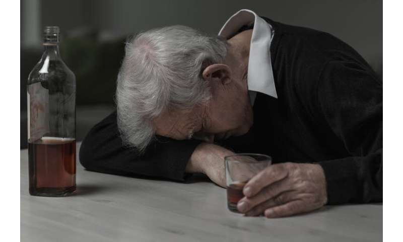 Older people with alcohol dependence problems desperately need better support