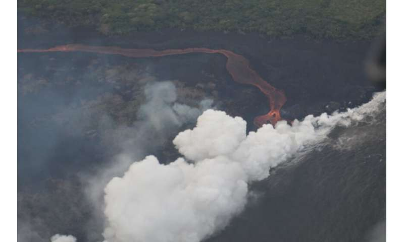 On the Front Lines in Kilauea