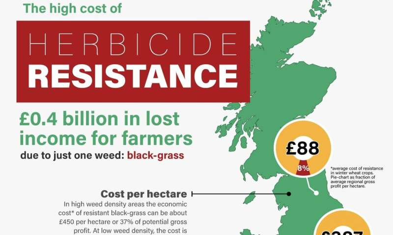 Overuse of herbicides costing UK economy £400 million per year