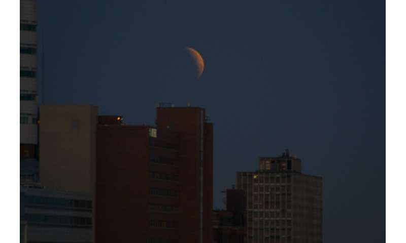 Partial lunar eclipse to grace U.K. evening sky