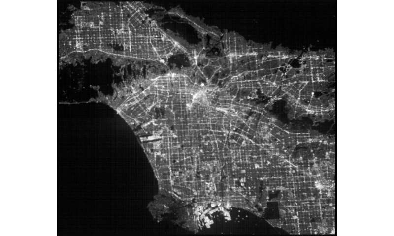 Planet-hunter CubeSat images Los Angeles