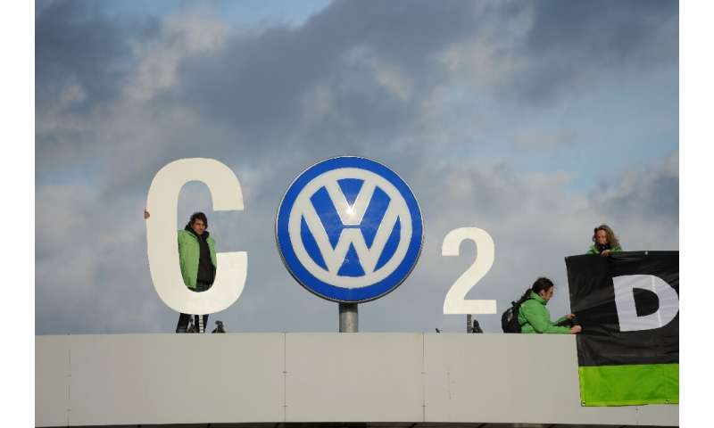 "Pressure from environmentalists and EU regulations has spurred VW to target sales of one million ""zero-emission"" vehic"