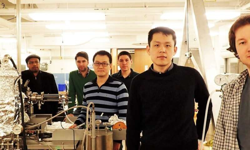 Princeton physicists detect topological behavior of electrons in magnetic 3D material