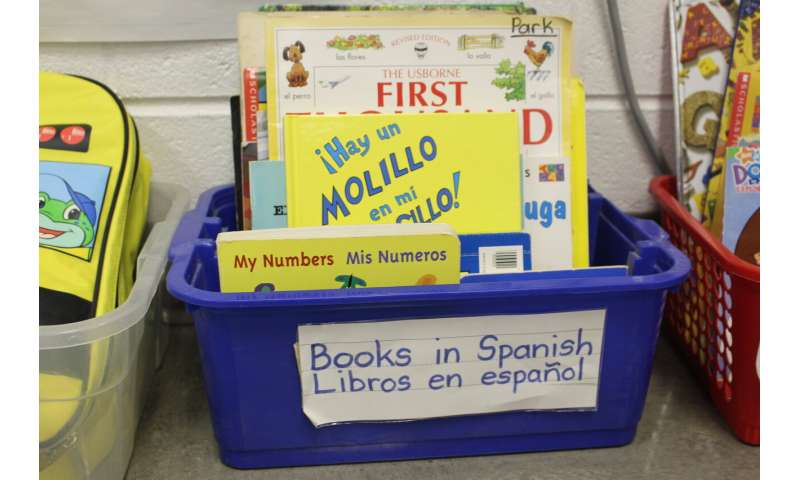 Read to kids in Spanish; it'll help their English