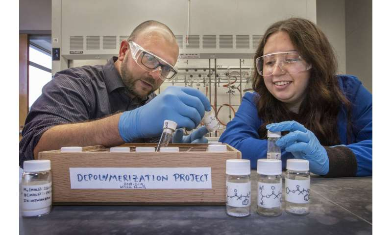 Researcher develops method to change fundamental architecture of polymers