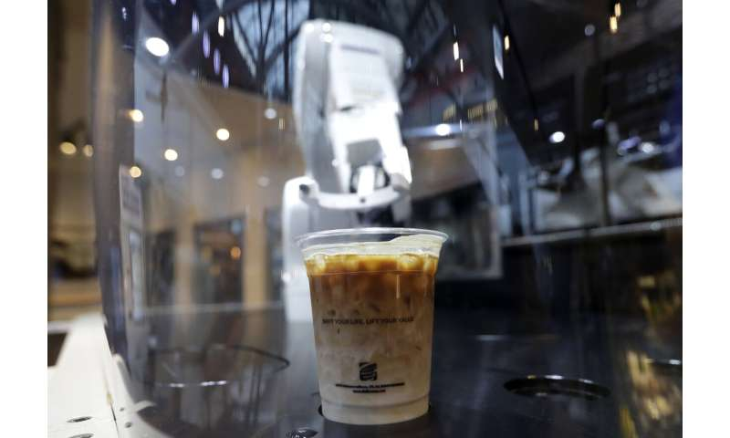 Robot baristas are latest front in S. Korea automation push