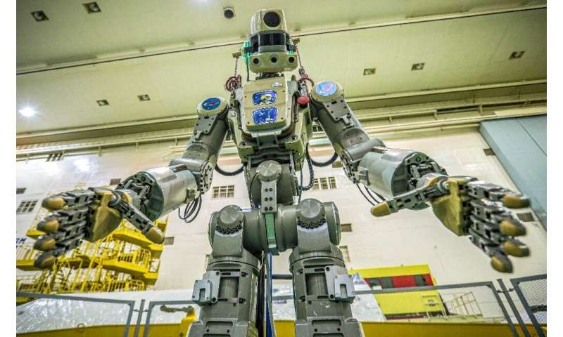 Robots like Fedor will eventually carry out dangerous operations such as space walks, according to the Russian space agency