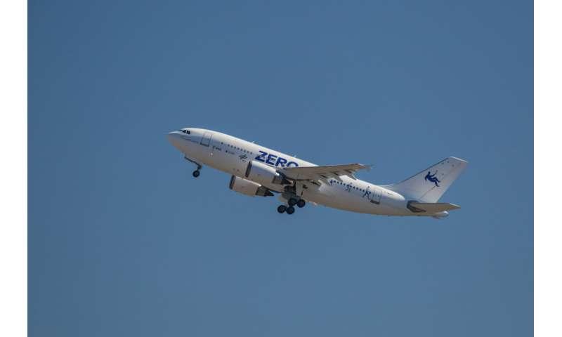 Science on a plane – ESA's next parabolic flight campaign