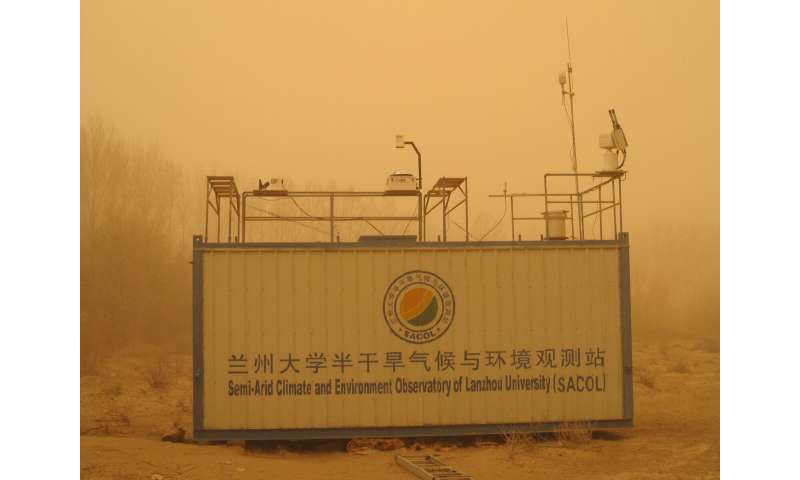 Semi-arid land in China has expanded in recent decades and probably continues to expand