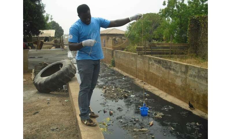 Sewage reveals levels of antimicrobial resistance worldwide
