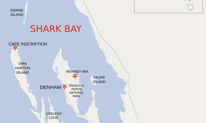 Shark Bay: A World Heritage Site at catastrophic risk