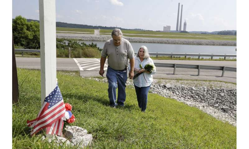 Sick and dying workers demand help after cleaning coal ash