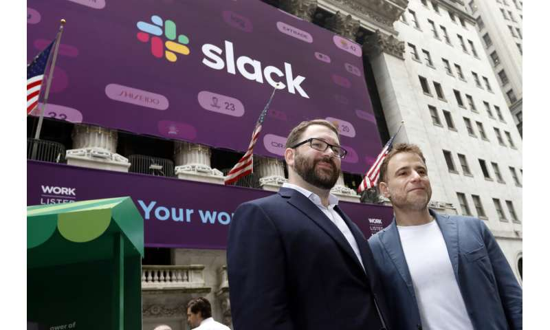 Slack is latest tech company to go public, with a twist
