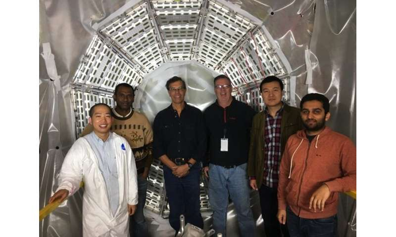 STAR detector has a new inner core