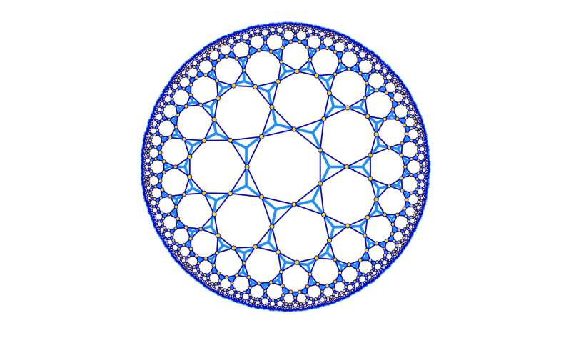 Strange warping geometry helps to push scientific boundaries