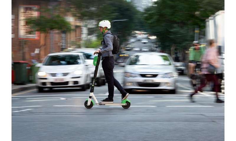 Study finds nearly half of shared e-scooters being ridden illegally