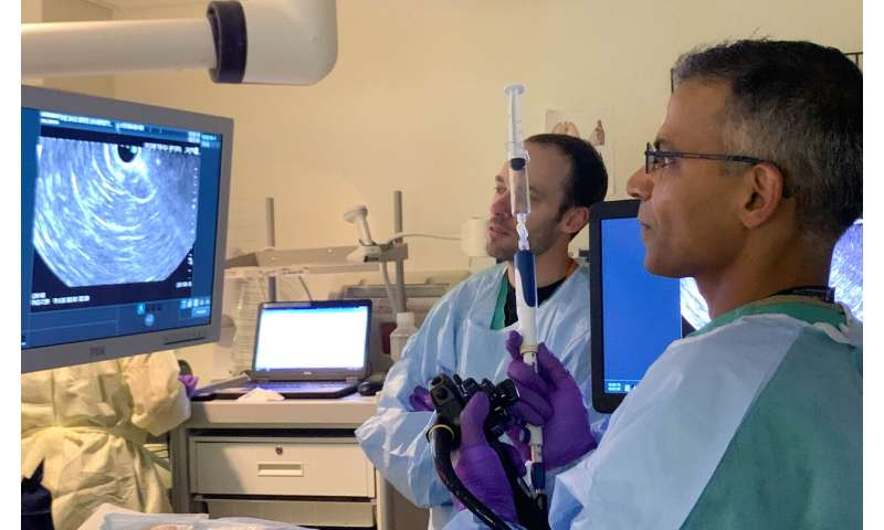 "Study finds 'virtual biopsy"" allows doctors to accurately diagnose precancerous pancreatic cysts"
