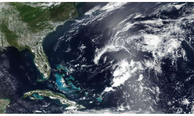 Subtropical Storm Andrea gone girl