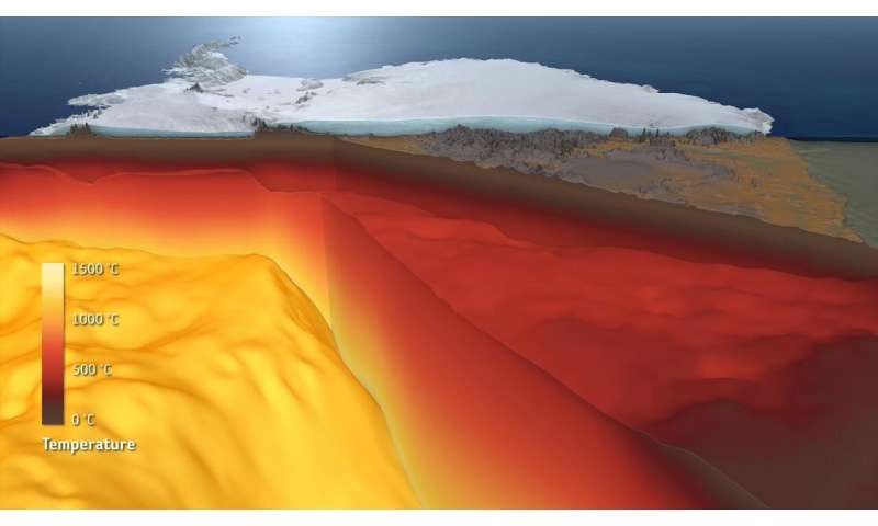 The Antarctic: study from Kiel provides data about the structure of the icy continent