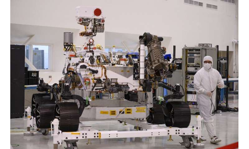 The Mars 2020 rover will remain active for at least one Martian year—around two years on Earth