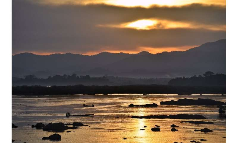 The Mekong sustains tens of millions of people along its banks through fishing and agriculture