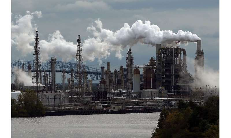The Philadelphia Energy Solutions (PES) refinery complex is seen here in October 2014