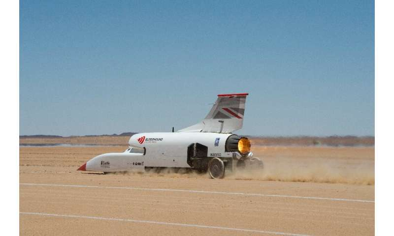 "The ""Bloodhound"" is gearing up to try to break the current land speed record"