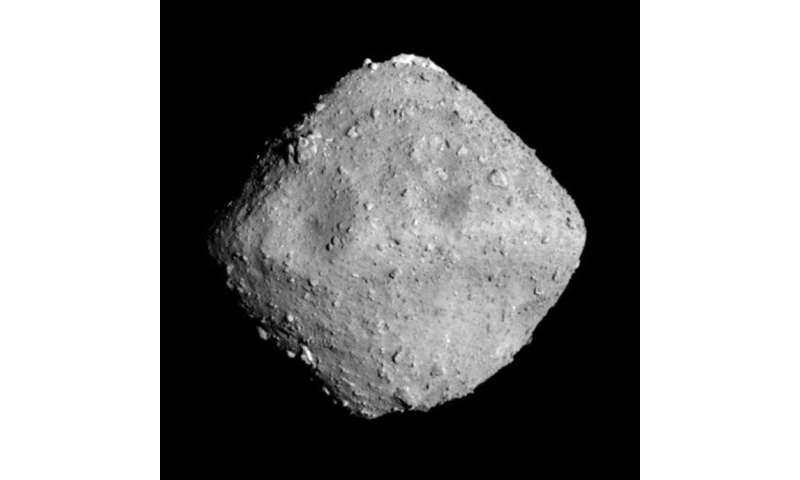 The Ryugu asteroid seen from around 20 kilometers away