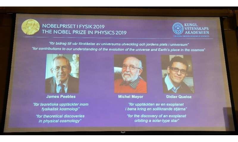 نوبل فیزیک ۲۰۱۹