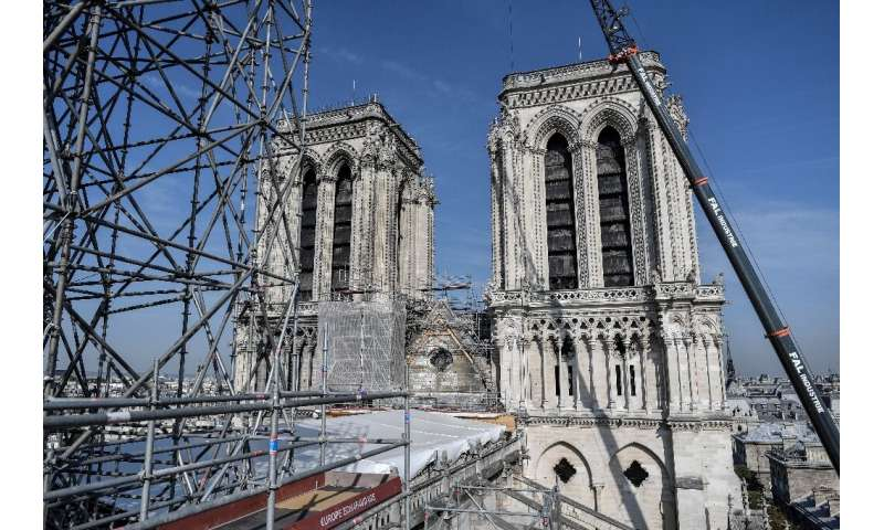 Tonnes of lead melted during the fire that ravaged Notre-Dame on April 15, prompting worries of exposure to the toxic metal
