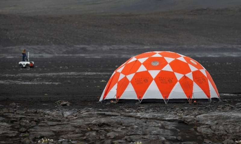 To prepare for the next mission to Mars in 2020, NASA has taken to the lava fields of Iceland to get its new robotic space explo