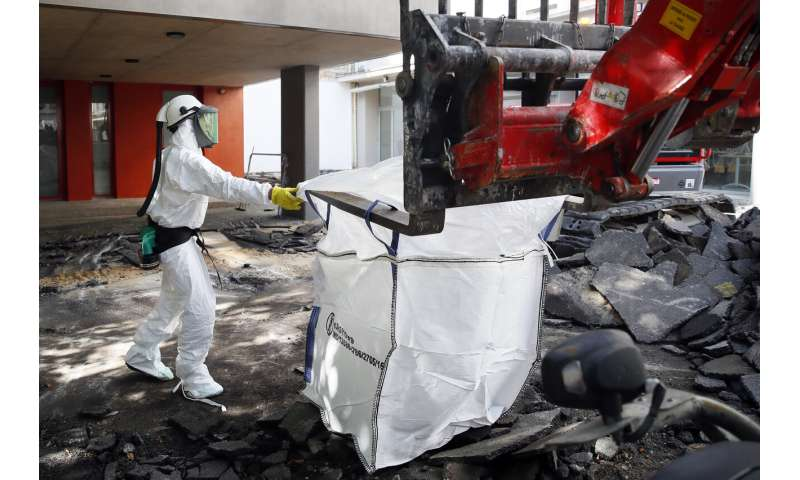 Toxic lead removed from Paris schools after Notre Dame fire
